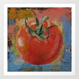 Vine Tomato Art Print