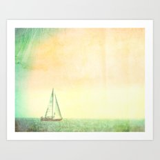 Smell the Sea and Feel the Sky Art Print