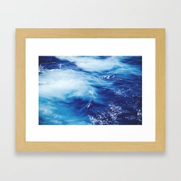 Blue Ocean Framed Art Print