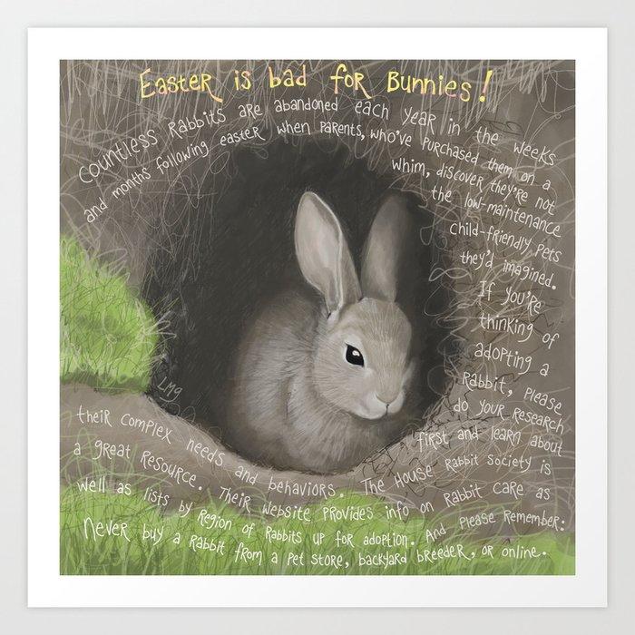 Rabbit 2 Art Print