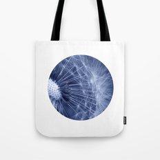 blue dandelion II Tote Bag