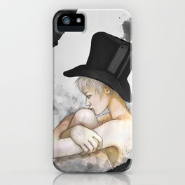"""""""Marie"""" by carographic iPhone Case"""