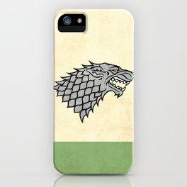 GoT - House of Stark iPhone Case