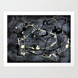 Of Light and Darkness Art Print