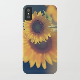 Sunflower 02 iPhone Case