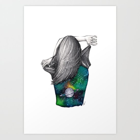 Every person is a world Art Print