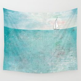 Boat (variation) Wall Tapestry