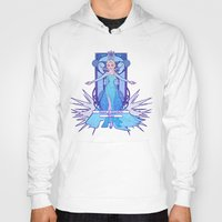 elsa Hoodies featuring Elsa by NicoleGrahamART