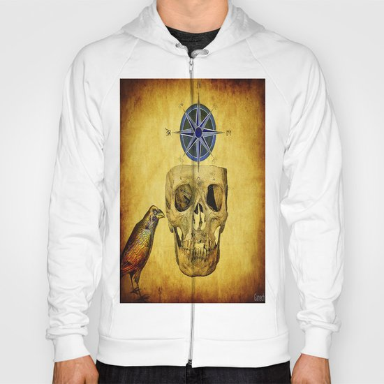 The crane compass Hoody