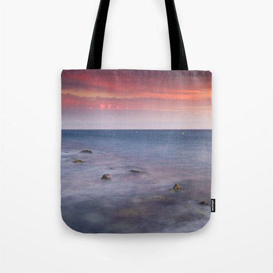 """Living...."" Love the sea.... Tote Bag"