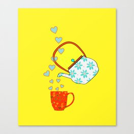 A Nice Cup Of Tea - Beverage Canvas Print
