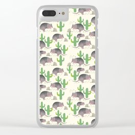 The Armadillos I Clear iPhone Case