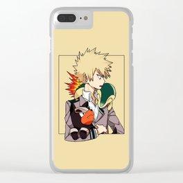 Katsuki Bakugou Nice Clear iPhone Case
