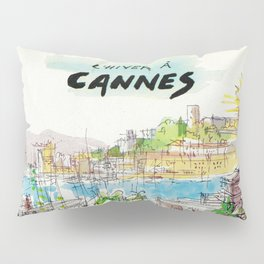 Winter In Cannes Pillow Sham