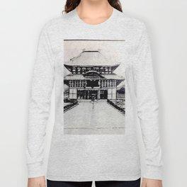 Todaiji Temple Long Sleeve T-shirt