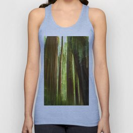 Redwood Abstract Unisex Tank Top