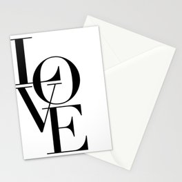 LOVE IS SWEET, Love Sign,Love Art,Wedding Decor,Anniversary Quote,Love Symbol,Love you more Stationery Cards