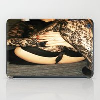 bdsm iPad Cases featuring funny painting Sex Fuck transgender gay crossdress BDSM fetish sissy submissive owned fetish panty by Velveteen Rodent