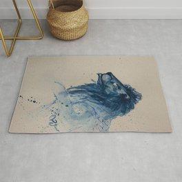 Blue Lion Rug