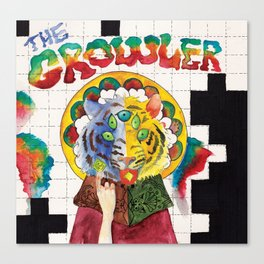 The Growler Canvas Print