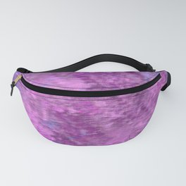 Pink and purple rough texture Fanny Pack