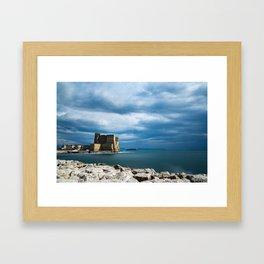 Castel dell'Ovo - Naples Framed Art Print