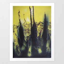 Abstractions in Nature 2 Art Print