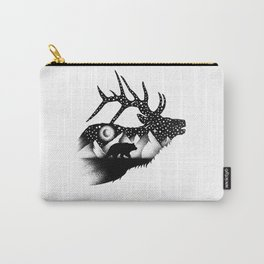 THE ELK AND THE BEAR Carry-All Pouch