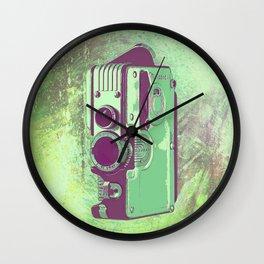 Retro Vintage Camera Wall Clock