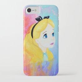 In Wonderland iPhone Case