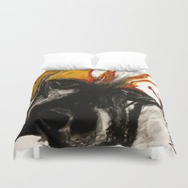 A Dog Called Flame Duvet Cover