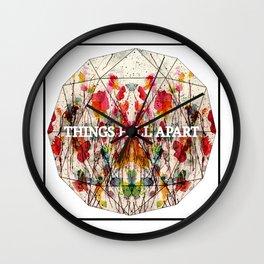 Things Fall Apart Wall Clock