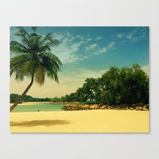 I'm on holiday Canvas Print