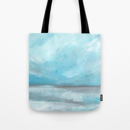 Whirlwind - Stormy Ocean Seascape Tote Bag