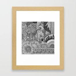 Doodle 3 Framed Art Print
