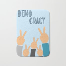 International Day of Democracy - to increase the awareness about the democracy Bath Mat