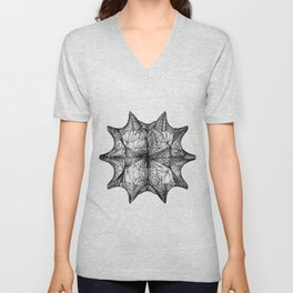 The Calabi-Yau Manifold - White Unisex V-Neck
