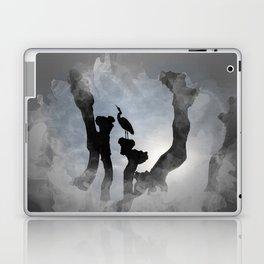 Heron in backlight Laptop & iPad Skin