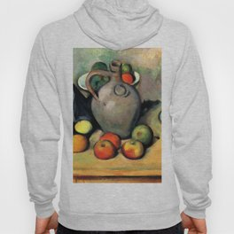 """Paul Cezanne """"Still life, jug and fruit on a table"""" Hoody"""