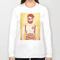 sailor Long Sleeve T-shirts featuring Sailor by Ismael Álvarez