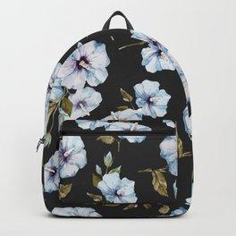 BLUE FLOWERS WATERCOLOR Backpack