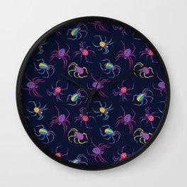 Cute Spider PATTERN Wall Clock