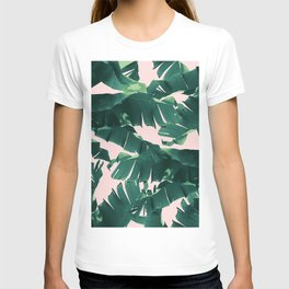 Tropical Banana Leaves #2 #tropical #decor #art #society6 T-shirt
