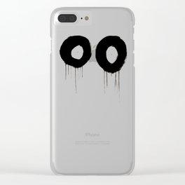 Lack o' Sleep Clear iPhone Case