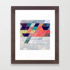 Myxy Framed Art Print