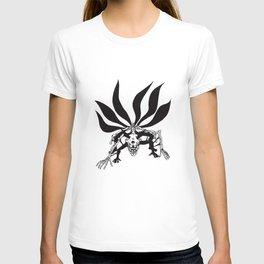 Naruto Shippuden Kyuubi Six Tails Anime Naruto T-Shirts T-shirt