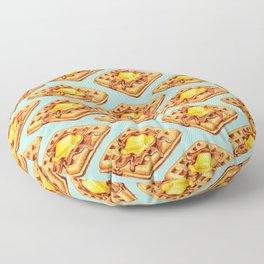 Waffle Pattern Floor Pillow