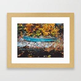 Blueboat#4 Framed Art Print