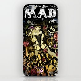 MAD ALICE: HATTER iPhone Skin