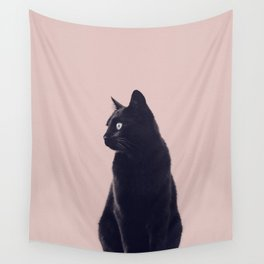 HER MAJESTY (mauve) Wall Tapestry